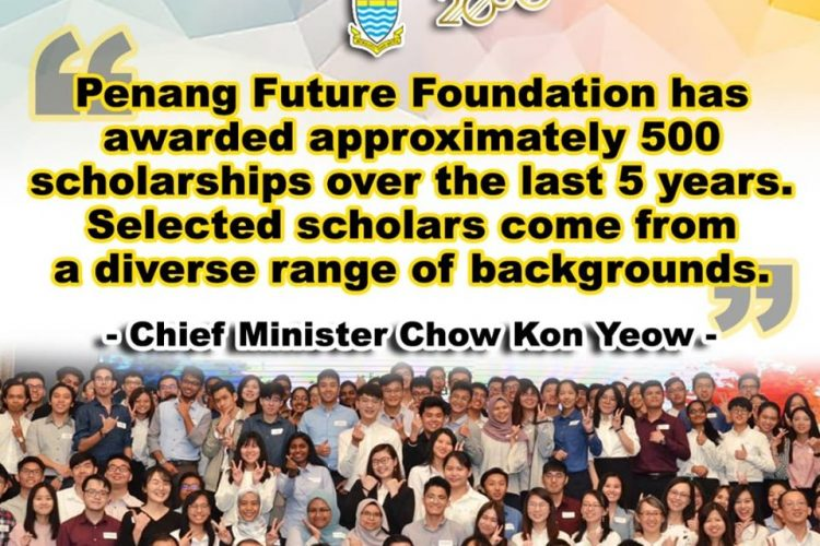 """Penang Future Foundation (""""PFF"""") started in 2015 as the Penang State Government's initiative to aid outstanding and deserving Malaysian youths to pursue tertiary studies in public/private universities in Malaysia. With valuable contribution from the private sector and donors, especially the Penang Turf Club, and recognizing the importance of education and the need to retain local […]"""